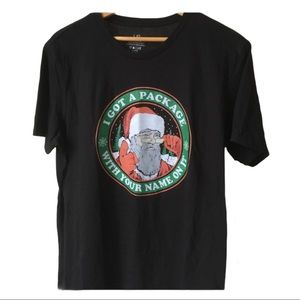 3 for $25 santa Tee cotton blend size large